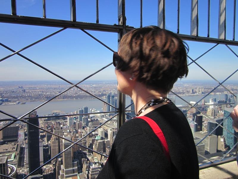 Die Welt aus dem dem 123. Stockwerk.