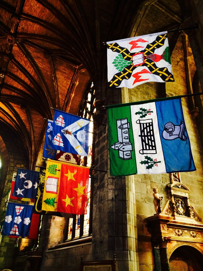 Sonntagsmesse in der St. Giles' Cathedral.